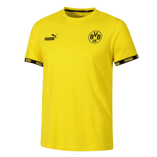 Puma Borussia Dortmund T-Shirt Culture 2019/2020 Gelb