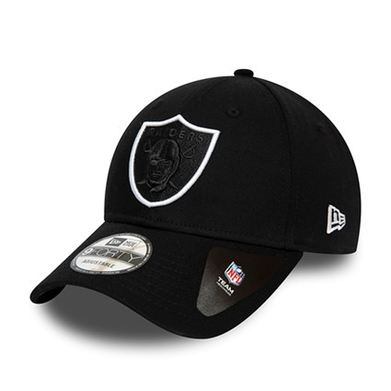 New Era Las Vegas Raiders Cap Team 9FORTY schwarz