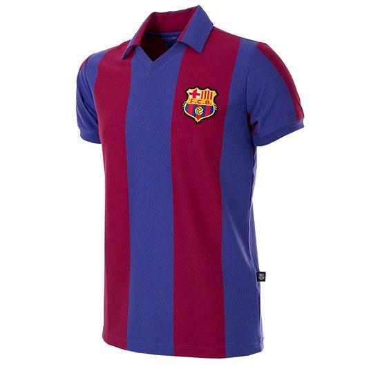 Copa FC Barcelona 1980/81 Short Sleeve Retro Shirt