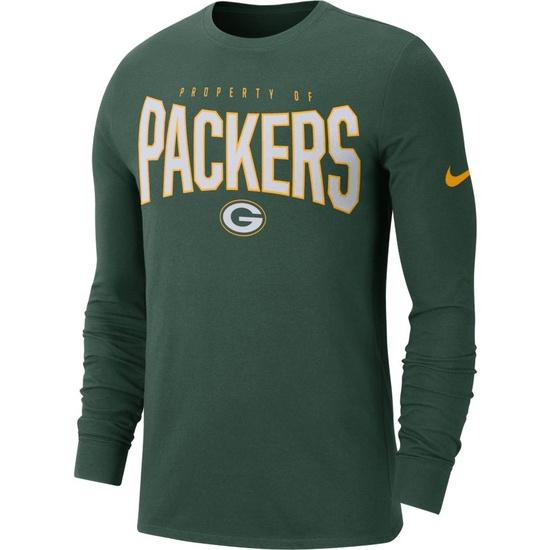 Nike Green Bay Packers Longsleeve Shirt 2019/2020 Grün