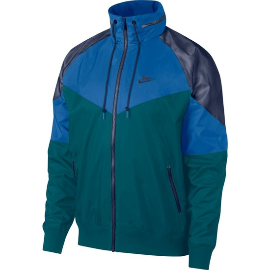 Nike Freizeitjacke Windrunner Grün/Blau/Marine