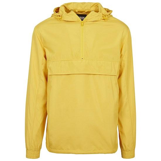 URBAN CLASSICS Jacke Basic Pull Over gelb