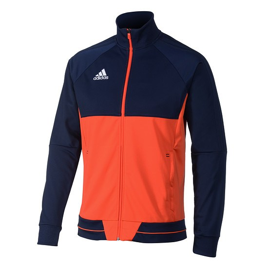 Adidas Trainingsjacke Tiro Dunkelblau/Energy Rot