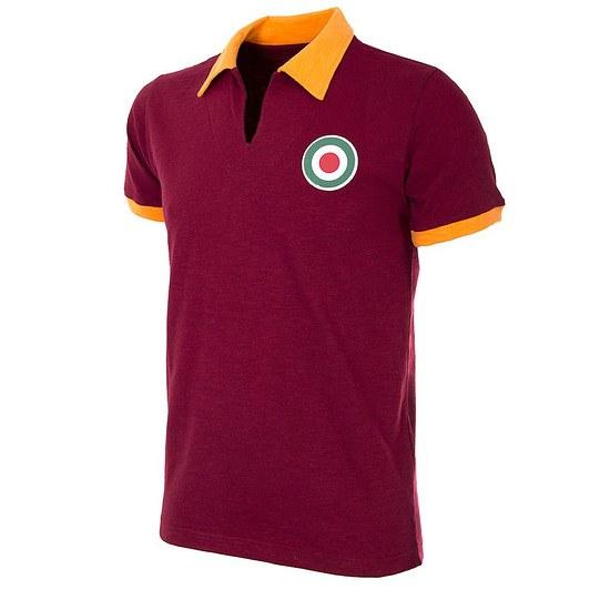 Copa AS Rom 1964/65 Short Sleeve Retro Shirt