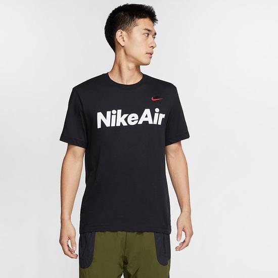 Nike T-Shirt NIKE AIR Schwarz