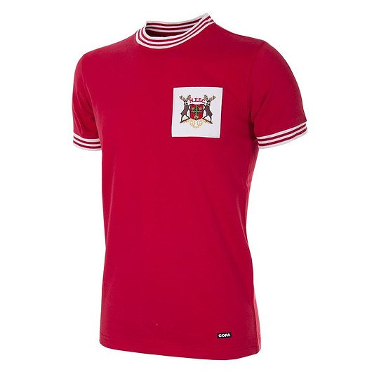 Copa Nottingham Forest 1966/67 Short Sleeve Retro Shirt