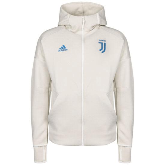 Adidas Juventus Turin Kapuzenjacke Z.N.E. beige/blau