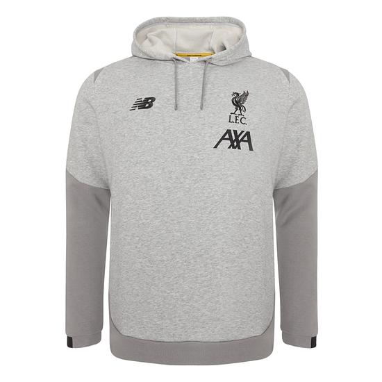 New Balance FC Liverpool Hoodie 2019/2020 Grau