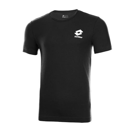 Lotto T-Shirt Basic schwarz