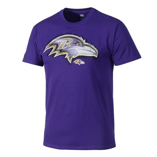 Majestic Athletic Baltimore Ravens NFL T-Shirt Line to Gain lila