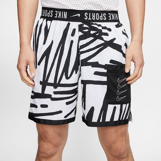 Nike Freizeitshorts Graffiti Swim Weiß