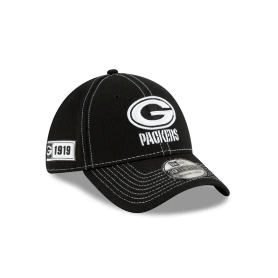 New Era Green Bay Packers Cap Sideline RD 39THIRTY schwarz