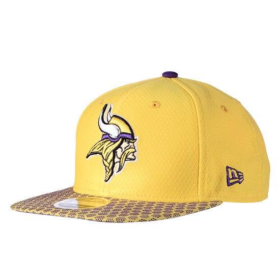 New Era Minnesota Vikings Cap Sideline 9FIFTYOF Dots gelb