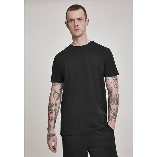 URBAN CLASSICS T-Shirt Basic schwarz