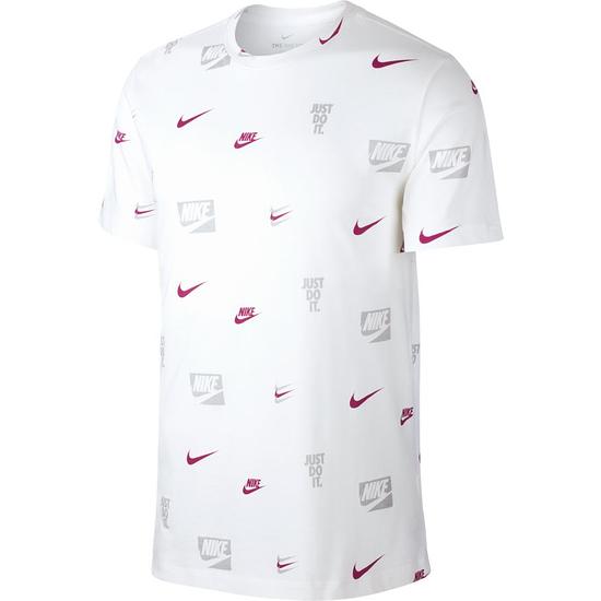 Nike T-Shirt PRINT 3 Styles Weiß