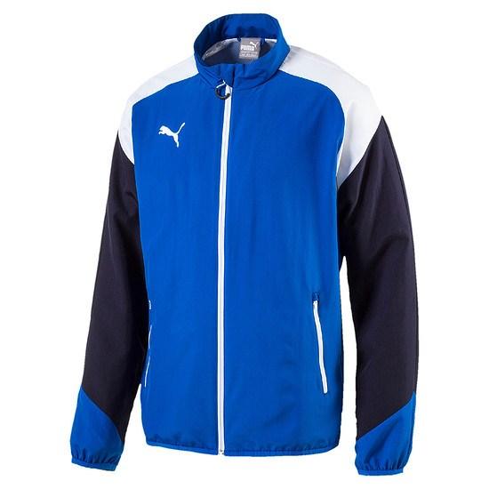 Puma Freizeitjacke Team Blau/Weiß