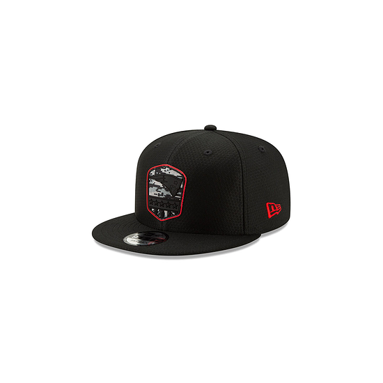 New Era New England Patriots Cap Salute To Service 9FIFTY schwarz