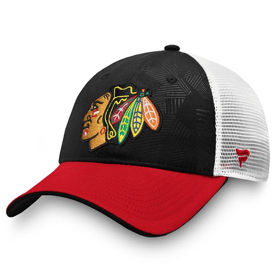 Fanatics Chicago Blackhawks Iconic Cap rot/schwarz