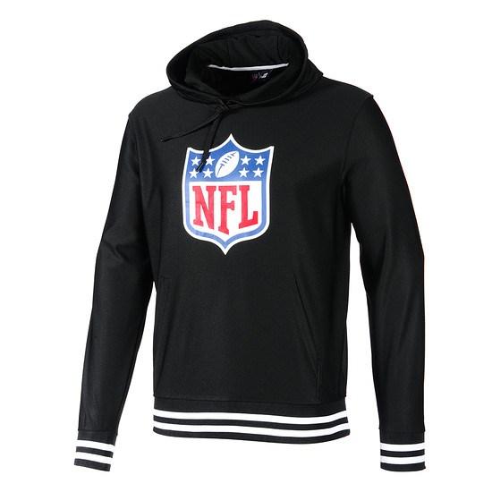 New Era Hoodie Dryera NFL Shield schwarz