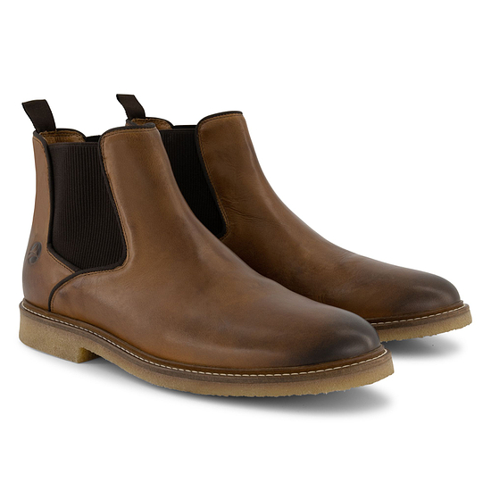 TRAVELIN OUTDOOR Boot Glasgow Chelsea cognac