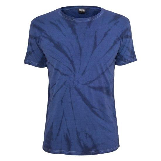 URBAN CLASSICS T-Shirt Batik Blau/Indigo