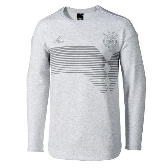 Adidas DFB Team Sweatshirt Grau