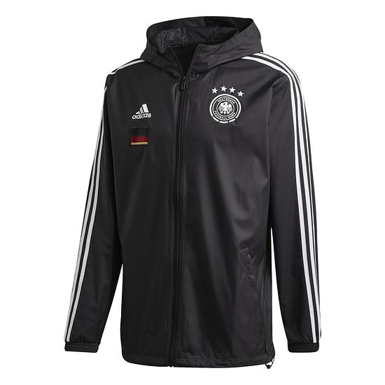 Adidas Deutschland DFB Jacke Windbreaker EM 2021 Schwarz