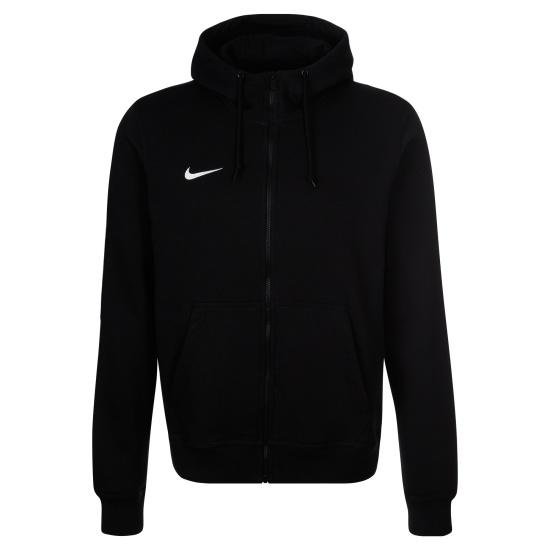 Nike Zip Hoodie Club Schwarz