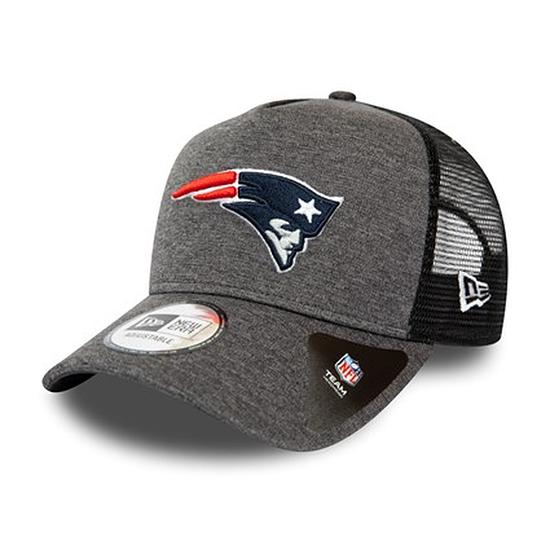 New Era New England Patriots Cap Shadow Tech Trucker grau