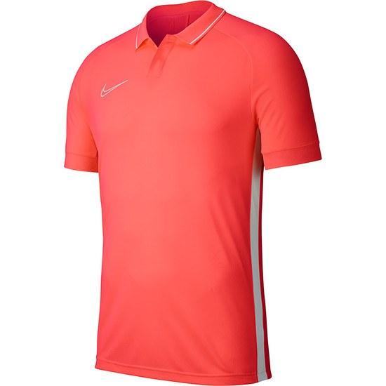 Nike Poloshirt Academy 19 Neonrot