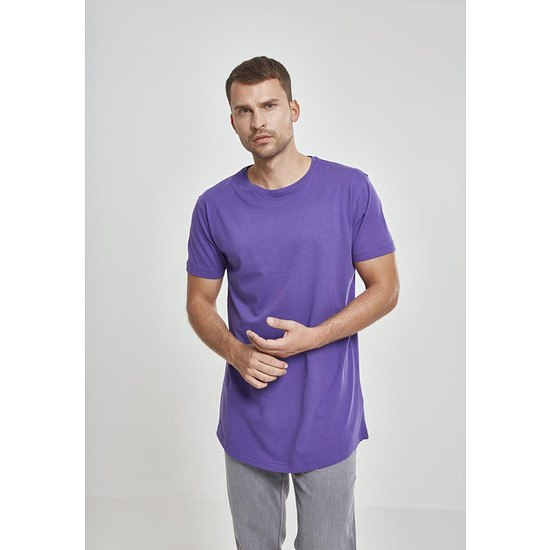 URBAN CLASSICS T-Shirt Shaped Long ultraviolet