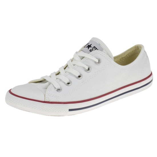 CONVERSE Sneaker Chuck Taylor All Star Dainty Basic OX weiß
