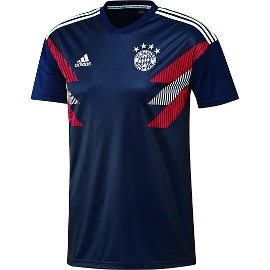 Adidas FC Bayern München Präsentations-Shirt Navy