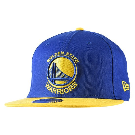 New Era Golden State Warriors Cap Team 9FIFTY blau/gelb