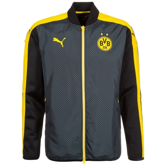 Puma Borussia Dortmund Jacke Team Schwarz