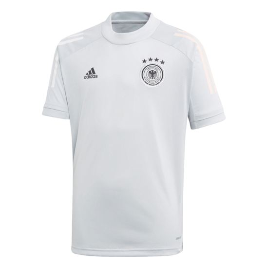 Adidas Deutschland DFB Training-Shirt EM 2021 Kinder Grau