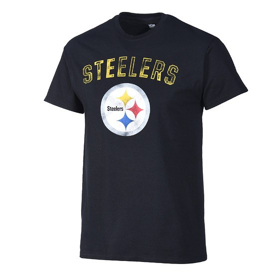 Majestic Athletic Pittsburgh Steelers T-Shirt Bradler schwarz