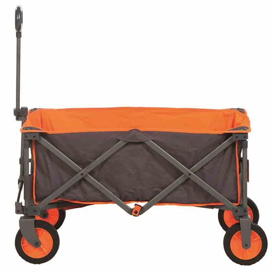 Portal Bollerwagen Alf 91x45x55 cm grau/orange