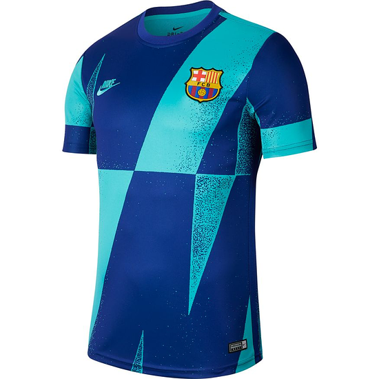 Nike FC Barcelona T-Shirt CL Blau