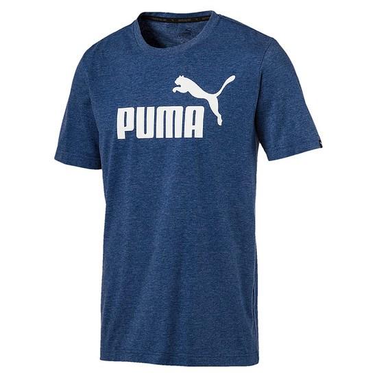 Puma T-Shirt ESS No. 1 Dunkelblau
