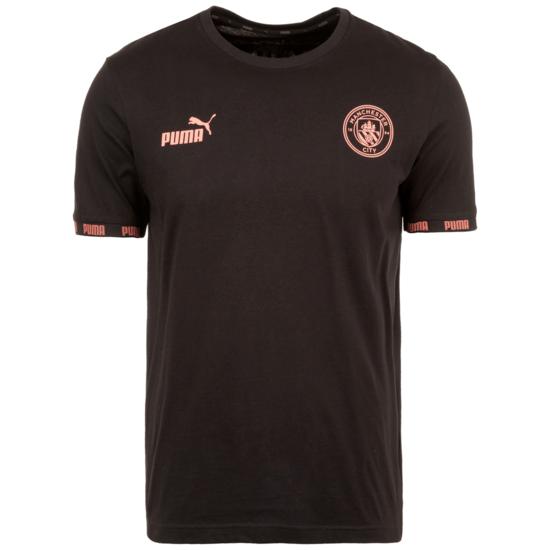 Puma Manchester City FtblCulture T- T-Shirt FtblCulture schwarz/rosa
