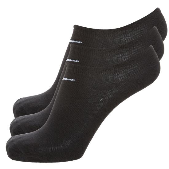 Nike Socken Value No-Show 3er Pack schwarz