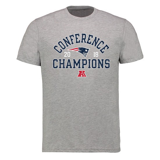 Majestic Athletic New England Patriots Conference Winner T-Shirt grau