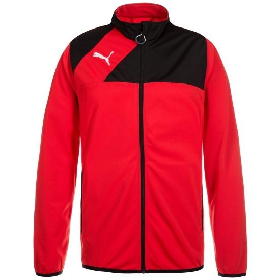 Puma Trainingsjacke Esquadra Rot/Schwarz