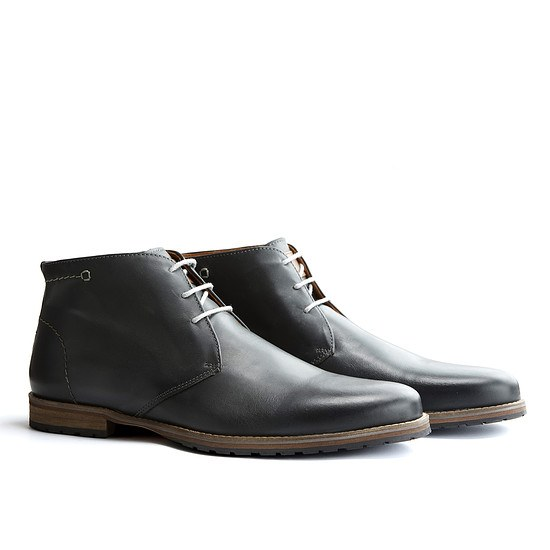 TRAVELIN OUTDOOR Boot Liverpool dunkelgrau