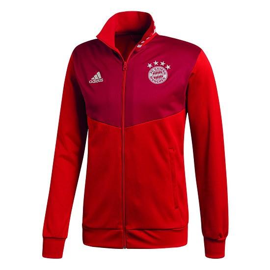 Adidas FC Bayern München Trainingsjacke Team Rot