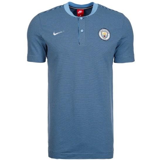 Nike Manchester City Poloshirt Modern Authentic blau/hellblau
