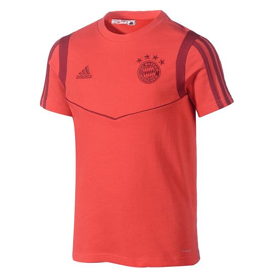 Adidas FC Bayern München T-Shirt Team 2019/2020 Kinder Rot