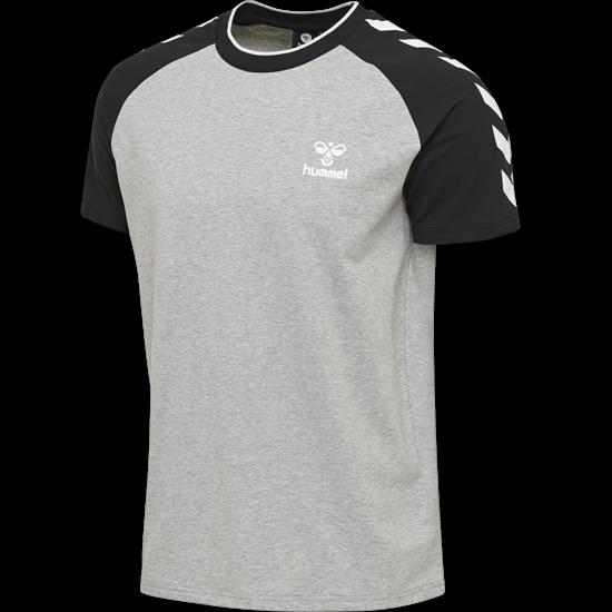 hummel T-Shirt Mark grau