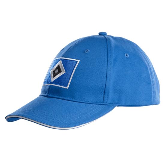 Hamburger SV Cap Raute Kinder blau